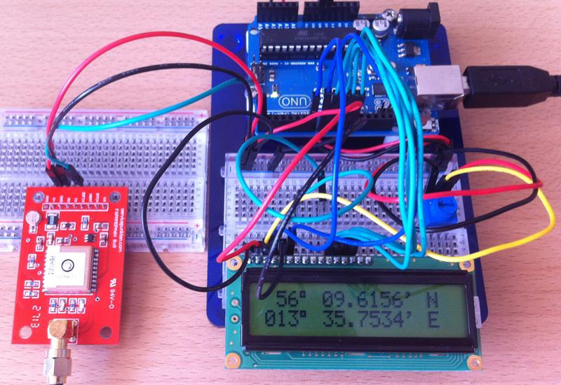 GPS och LCD
